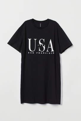 H&M T-shirt Dress - Black