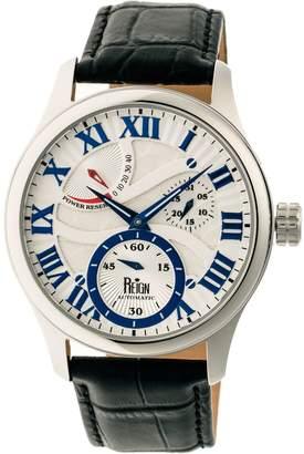 Reign Bhutan Automatic Watch - Silvertone