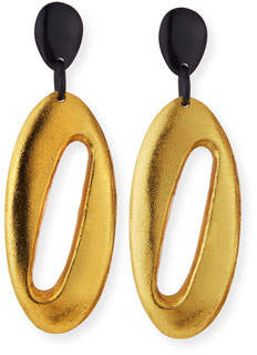 Viktoria Hayman Cutout Dangle Drop Earrings