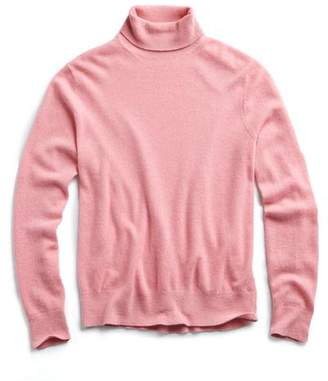 Todd Snyder Cashmere Turtleneck in Pink