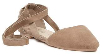 Callisto Anneka Lace-Up d'Orsay Flat