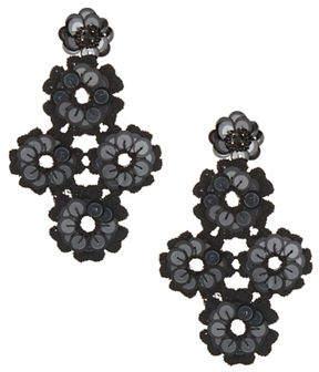 Kate Spade New York Sequin Statement Drop Earrings