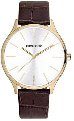 Pierre Cardin Mens Analogue Classic Quartz Watch with Leather Strap  PC902151F03 562c650fd282