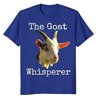 The Goat Whisperer Funny Novelty T-Shirt