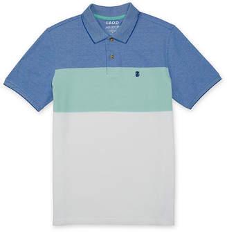 Izod Quick Dry Short Sleeve Pique Polo Shirt