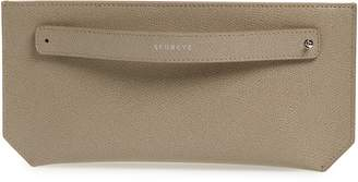 Senreve Pebbled Leather Bracelet Pouch