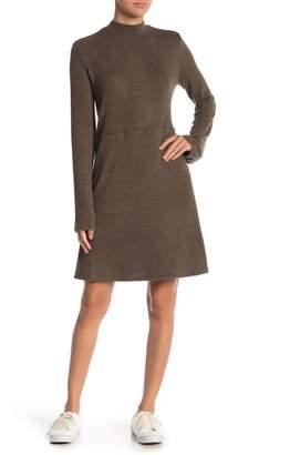 Abound Mock Neck Sweater Knit Dress