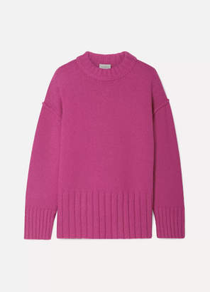 Jason Wu GREY - Fritz Oversized Knitted Sweater - Fuchsia