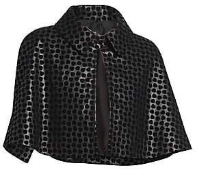 Alaia Women's Dalmation Leather Bolero
