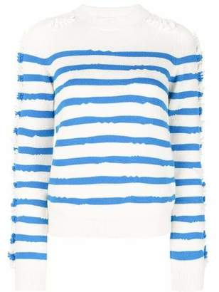 Barrie Crewneck Striped Pullover