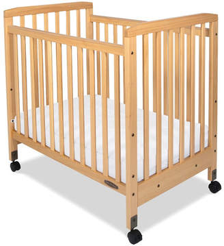 Child Craft Bristol Professional Series Compact Child Care Crib with Mattress