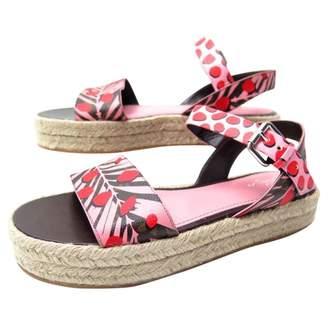Louis Vuitton Cloth sandals