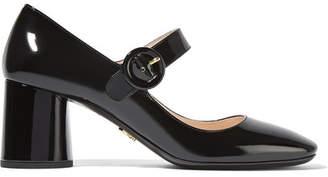 Prada - Patent-leather Pumps - Black $650 thestylecure.com