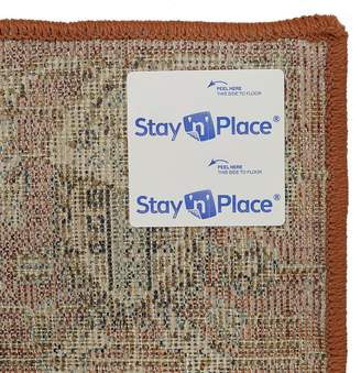 N. Mohawk 4-pack Stay Place Rug Tab Strip