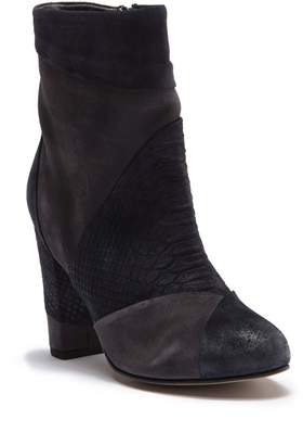 Seychelles Skulk Ankle Leather & Suede Bootie