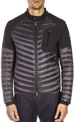 Colmar Black Jacket With Front Zip Pocket