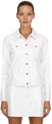 Calvin Klein Jeans Vinyl Trucker Jacket
