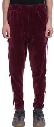 adidas Velvet Burgundy Trousers