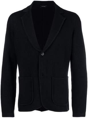 Ermenegildo Zegna slim-fit knit blazer