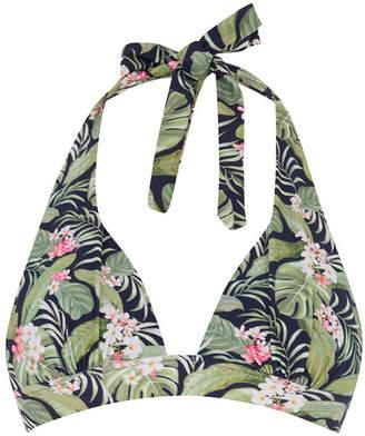 Oasis Tropical Halter Bikini Top