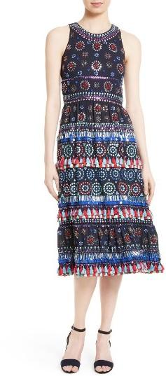 Women's Kate Spade New York Embellished Midi Dress
