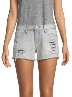 True Religion Kori Distressed Denim Shorts