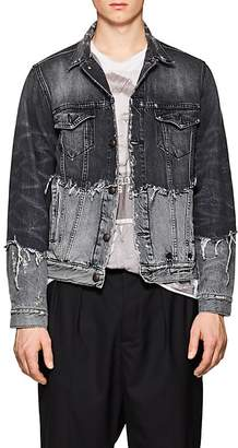 R 13 Men's Sky Spliced Denim Jacket