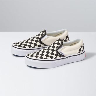 Kids Checkerboard Slip-On