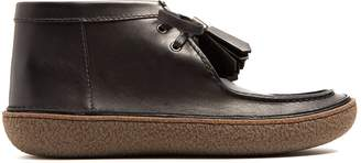Prada Raised-sole leather desert boots