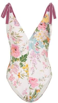 Zimmermann Heathers floral swimsuit