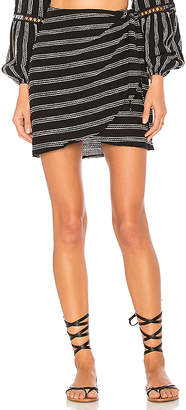 Beach Riot Lexi Wrap Skirt