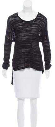 Helmut Lang HELMUT Scoop Neck Knit Sweater