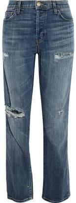 Current/Elliott The Slouchy Distressed Boyfriend Jeans
