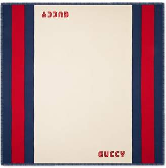 f669ad7cf29 Gucci Silk Scarf For Men - ShopStyle Canada