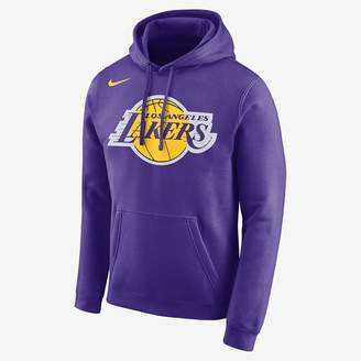 Nike Los Angeles Lakers Men's Logo NBA Hoodie