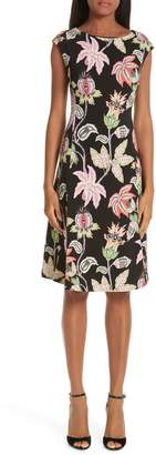 Etro Floral Print Jersey Dress