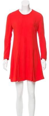 Stella McCartney Pleat-Accented Mini Dress