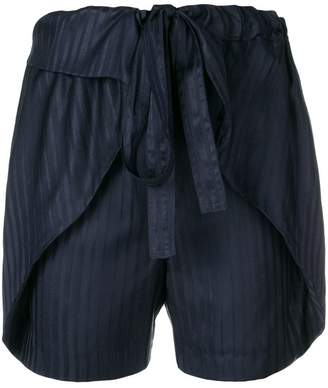 Stella McCartney striped silk shorts