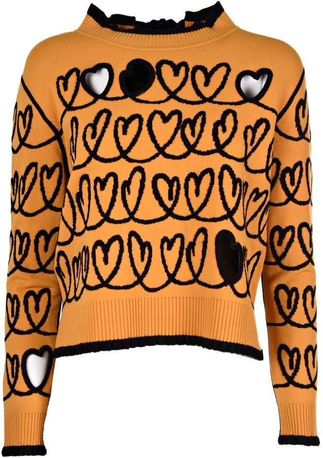 Heart Short Pullover