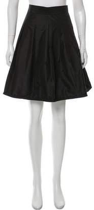Vivienne Tam Knee-Length Pleated Skirt