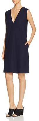 Eileen Fisher Petites Sleeveless Deep V-Neck Dress