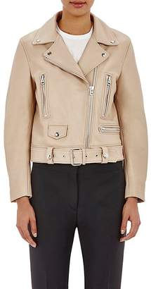 "Acne Studios Women's Belted ""Mock"" Moto Jacket"