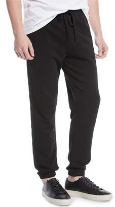 Vince Men's Mixed-Media Sweatpants