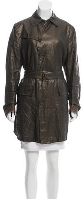 John Varvatos Linen Collared Coat $245 thestylecure.com