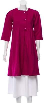 Diane von Furstenberg Lightweight Wool Jacket