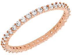 Swarovski Vittore Rose Gold Tone and Crystal Ring