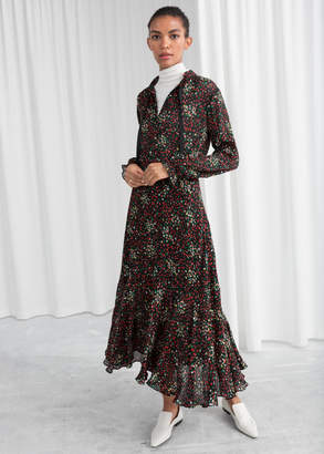 And other stories Oversized Maxi Dress