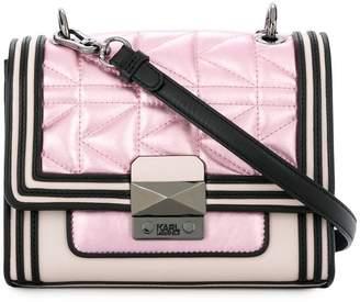Karl Lagerfeld quilted shoulder bag