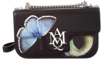 Alexander McQueenAlexander McQueen 2016 Medium Insignia Big Obsession Shoulder Bag