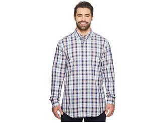 Nautica Big Tall Long Sleeve Large Plaid Shirt